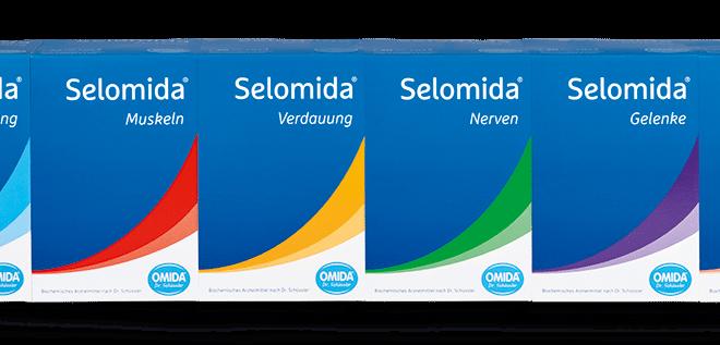 Selomida®, für die täglichen Herausforderungen –  Die innovative Neuheit aus dem Traditionshaus OMIDA