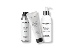 ACCA_KAPPA_MUSCHINO BIANCO PRE-SHAVE GEL_MUSCHINO BIANCO SHAVING FOAM_MUSCHINO BIANCO AFTER SHAVE EMULSION
