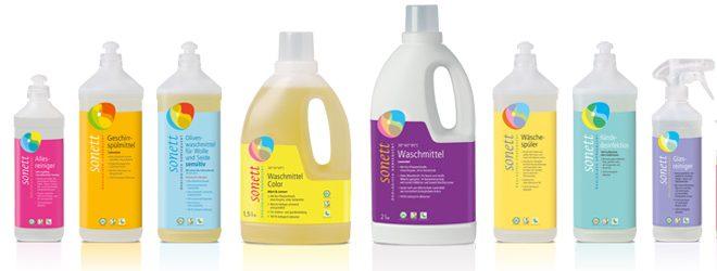 Sonett – Mittel für Waschen und Reinigen