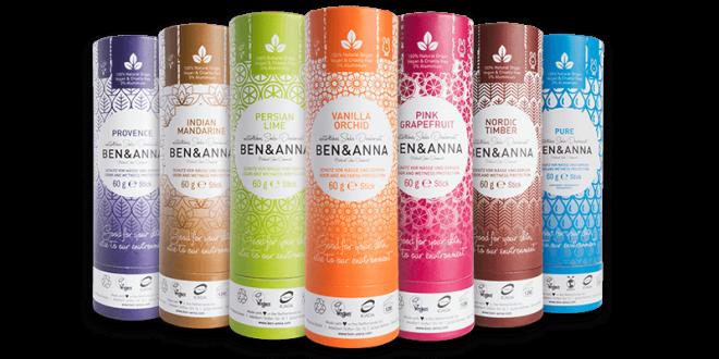 100% natürliches Soda Deodorant BEN&ANNA