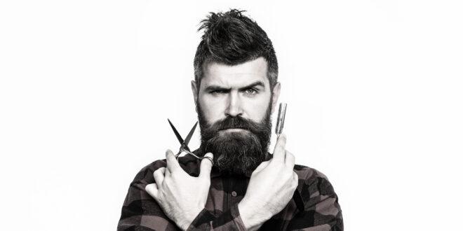 So kommt der Bart in Form