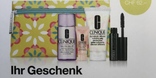 CLINIQUE Promotion 3. – 16. Mai